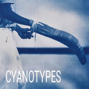 menu cyanotypes